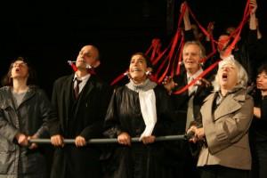 Spectacle « Aimer n'a pas d'âge » (sur la vie affective des seniors) à la Mairie de Gagny (93)