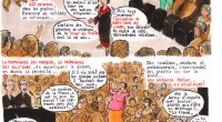 Lionel Brouck,qui a vu le spectacle «Les Bâtisseurs» le vendredi 31 mai à Montreuil, a créé une bande dessinée sur la soirée et nous l'a envoyée. Nous publions ici les […]