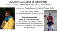 L'une conte, l'autre clowne. En 2015, Clara et Marie-France, toutes deux comédiennes à NAJE, ont montéun stage qui conjugueleurs deux spécialités. Et devant sa réussite, elles ont décidé de le […]